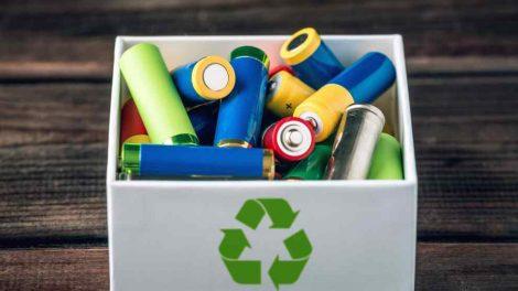 Wyrzucanie zużytych baterii